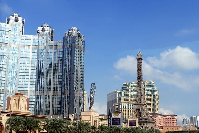 Macau china macao, architecture buildings.