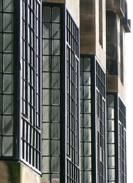 Mackintosh architecture window, architecture buildings.