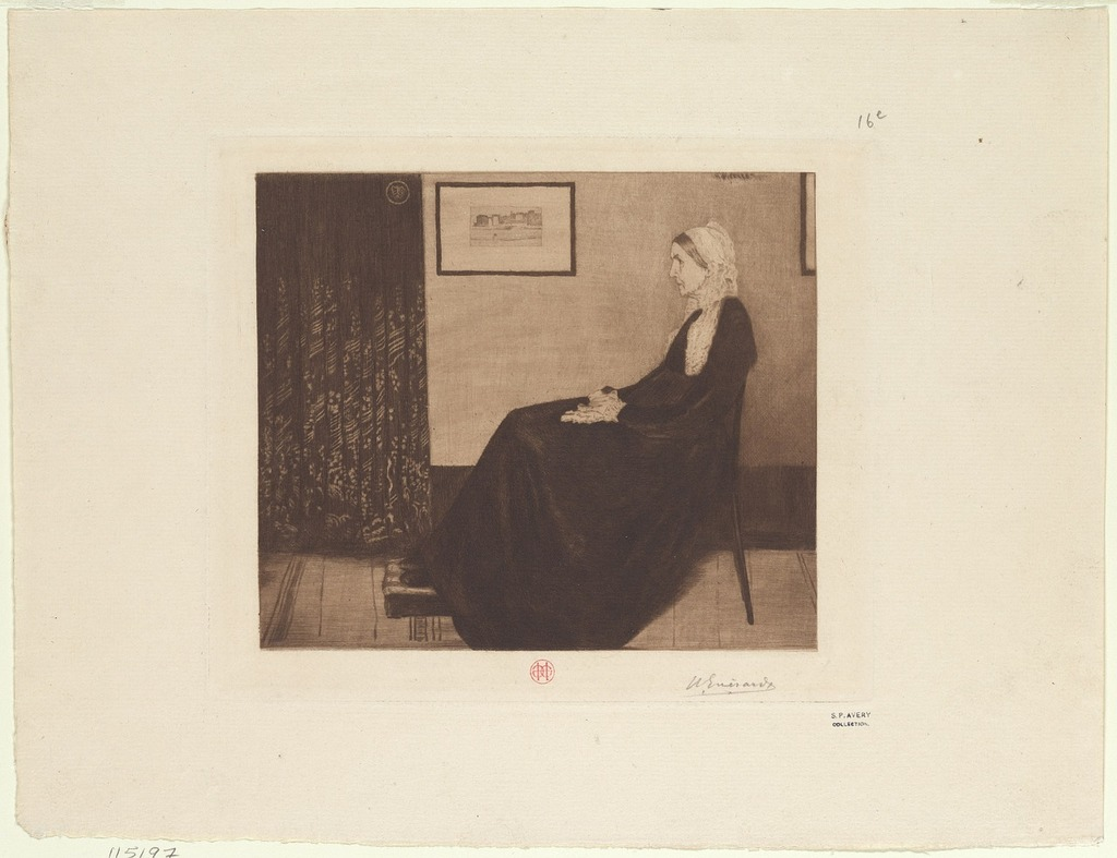 Madame whistler james mcneill whistler 1834-1903 artist.