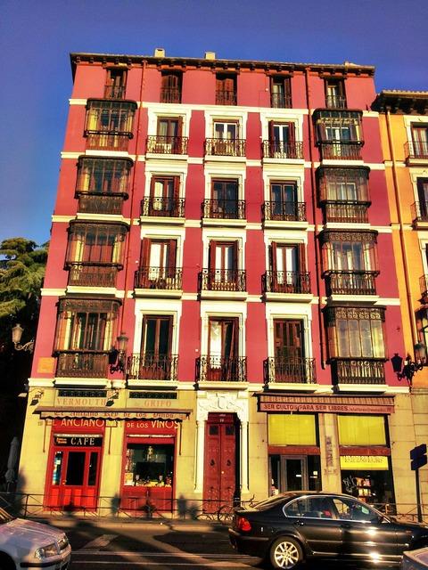 Madrid buildings spain.