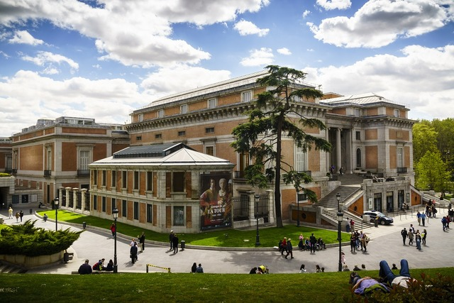 Madrid prado museum, architecture buildings.