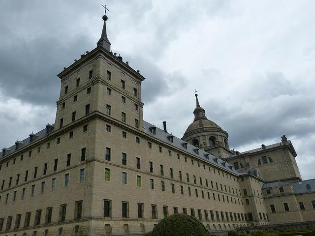 Madrid spain castile, architecture buildings.