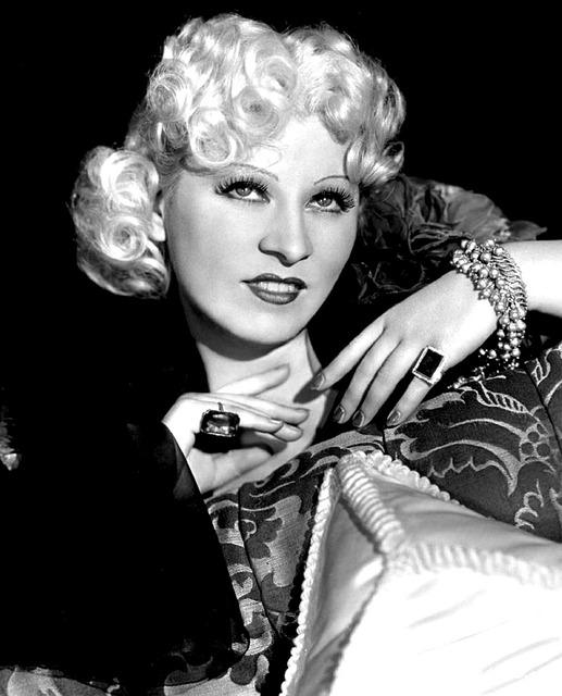 Mae west actress singer.