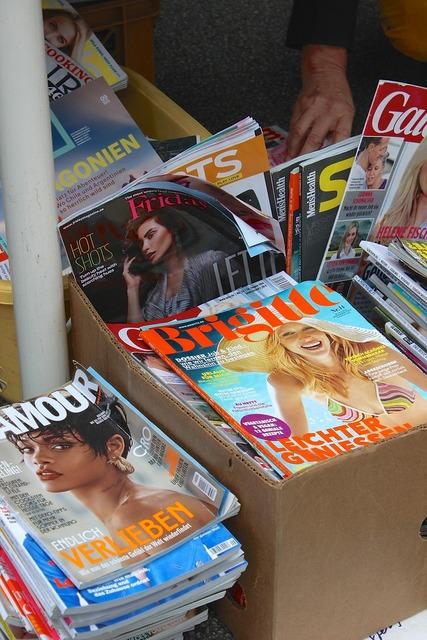 Magazines magazine fashion magazine, beauty fashion.