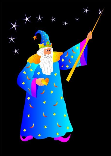Magician wand merlin, backgrounds textures.