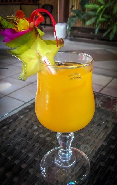 Mai tai star fruit tropical, travel vacation.