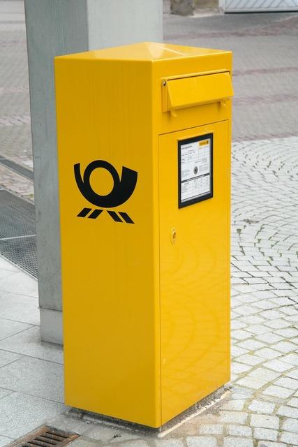 Mailbox letter box post.