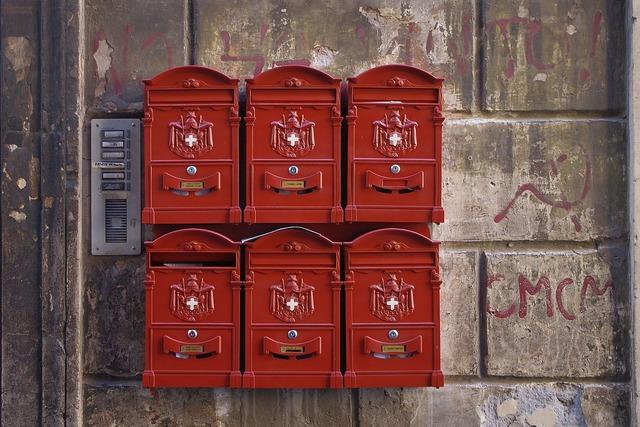 Mailbox rome newspaper.