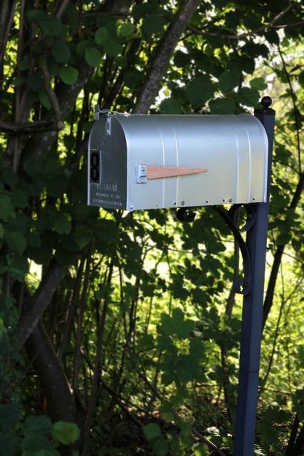 Mailbox usa mail box.