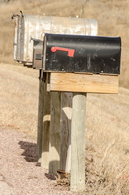 Mailboxes mailbox mail.