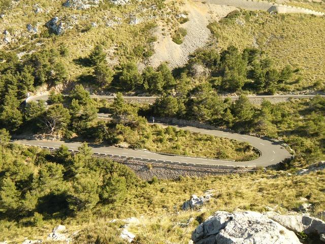 Majorca streamer way, nature landscapes.