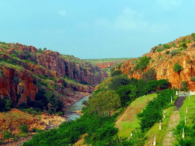 Malaprabha dam river malaprabha, nature landscapes.