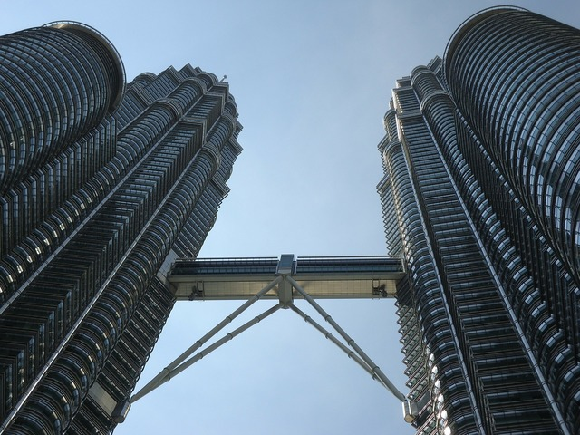 Malaysia double tower asian.