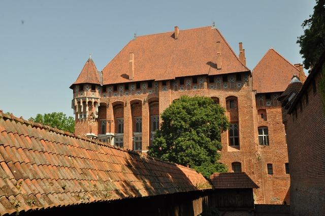 Malbork castle castle of the teutonic knights, architecture buildings.