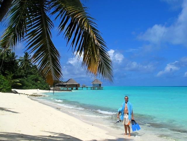 Maldives sea summer.