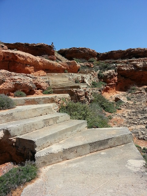 Mallorca stairs cala.