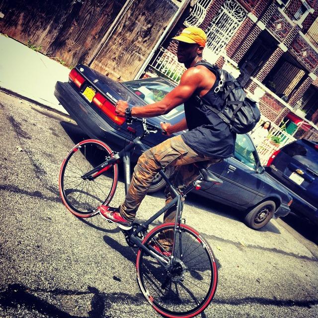 Man bicycle bike, people.