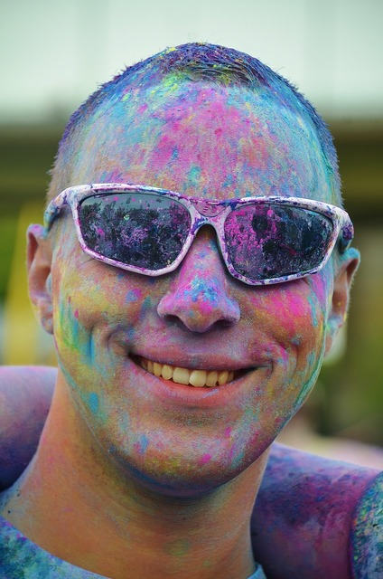 Man boy colorful, people.
