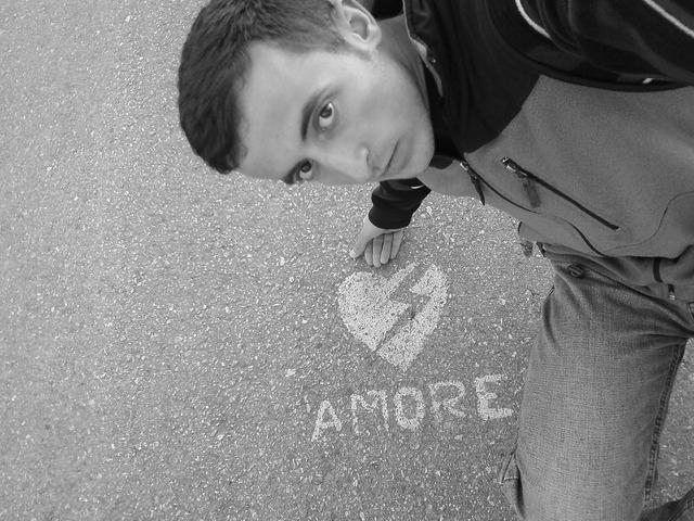Man love heart, people.