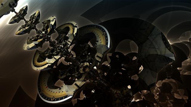 Mandelbulb 3d fractal.