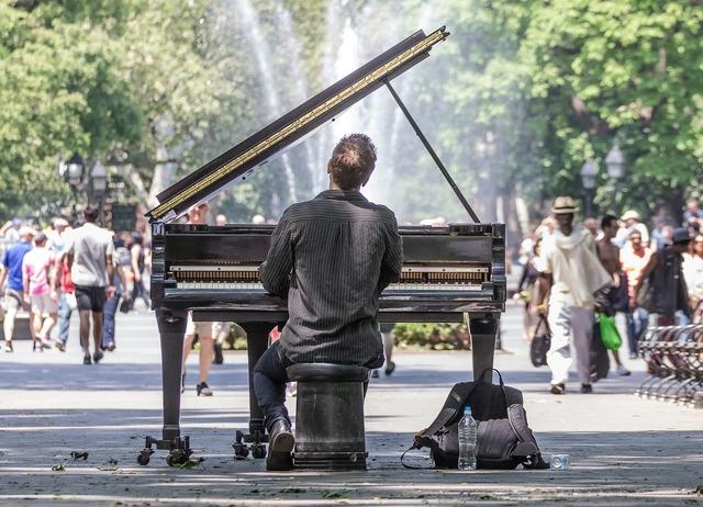 Manhattan concert solo, music.