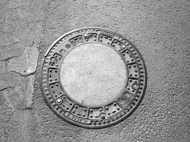 Manhole cover lid gullideckel, transportation traffic.