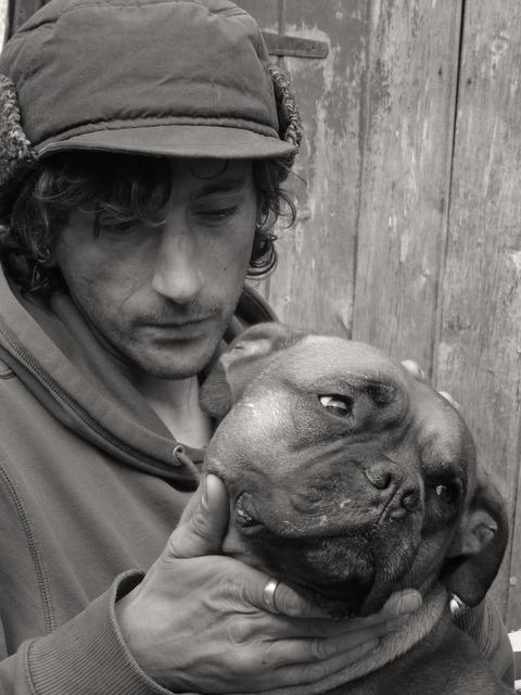 Mans best friend dog owner, animals.