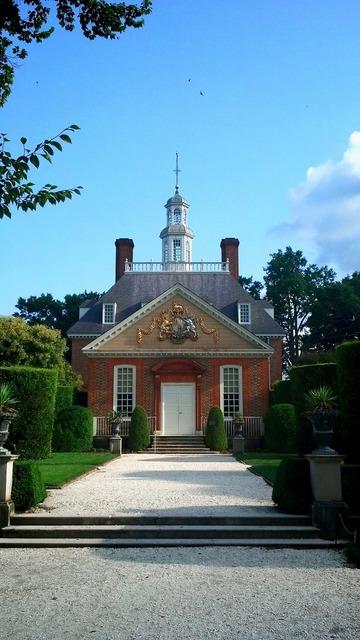 Mansion williamsburg virginia, architecture buildings.