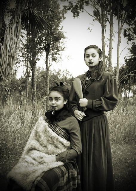 Maori indigenous polynesian, people.