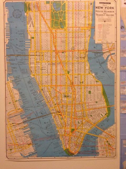 Map new york nyc.