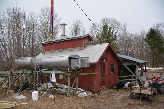 Maple sugar shed canada.