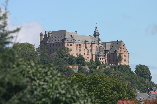 Marburger castle castle marburg, architecture buildings.
