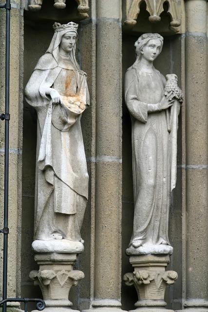Maria sculpture virgin mary, religion.