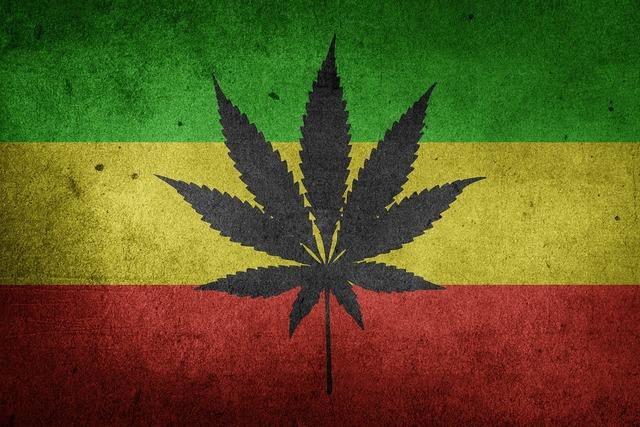 Marijuana cannabis weed, nature landscapes.