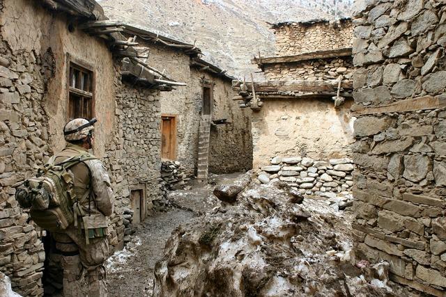 Marines afghanistan war.