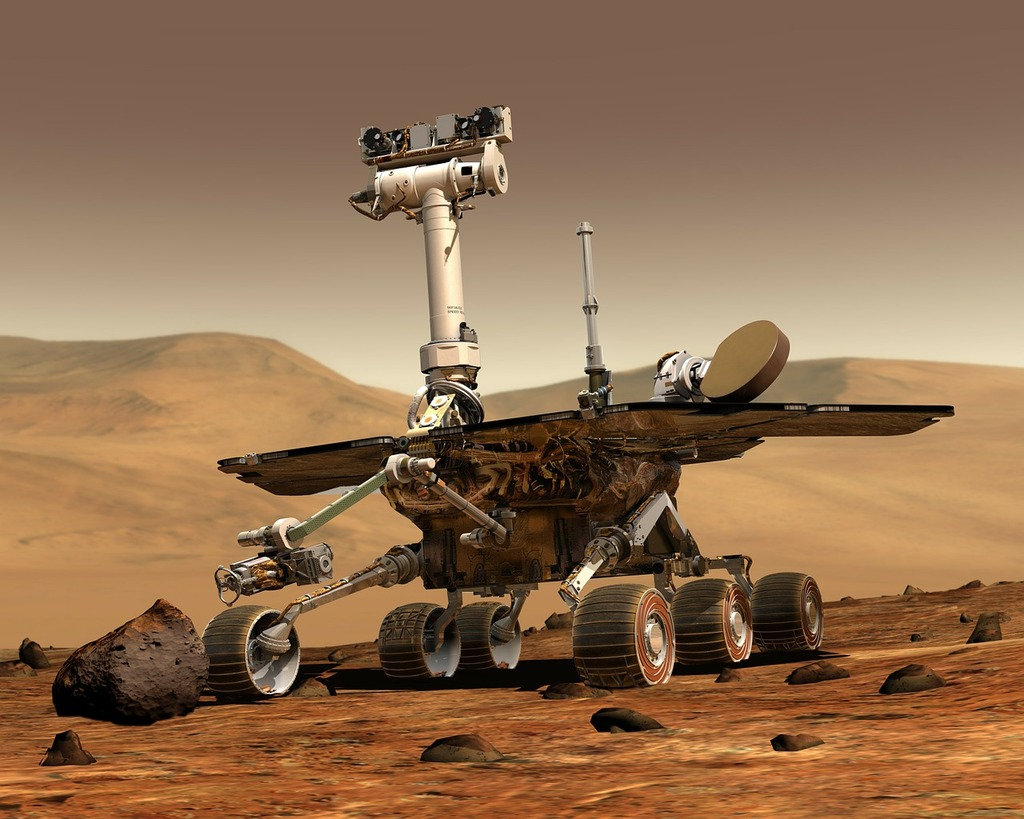 Mars mars rover space travel, science technology.
