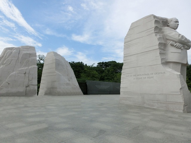 Martin luther king jr national memorial i have a dream, places monuments.