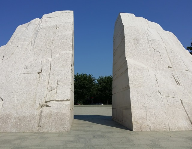 Martin luther king park monument, architecture buildings.