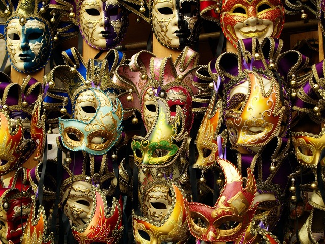 Mask carnival italy, beauty fashion.