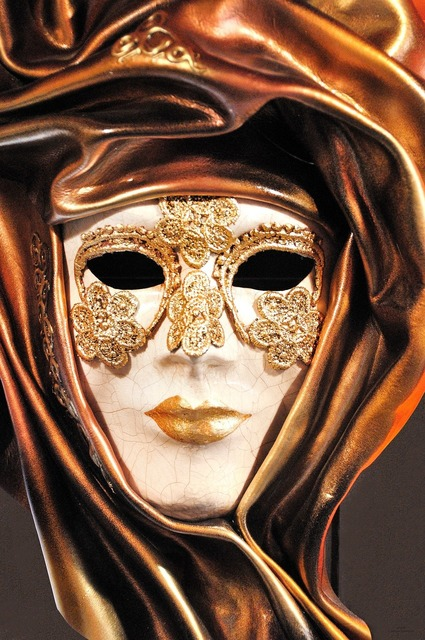 Mask carnival venice, beauty fashion.
