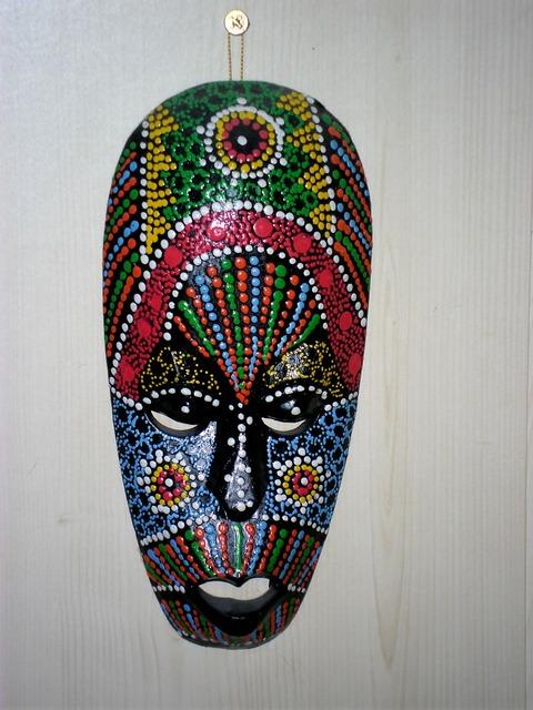 Mask india native.