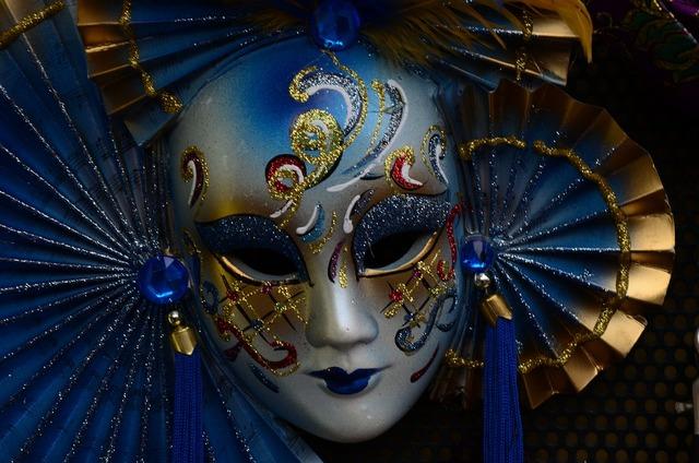 Mask venice carnival, beauty fashion.