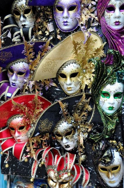 Masks venetian masks disguise, beauty fashion.