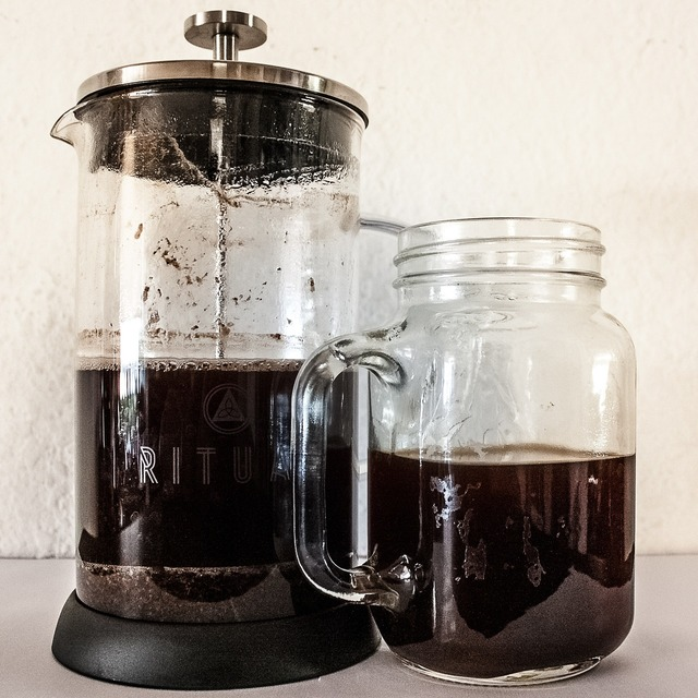 Masonjar coffee coffee hour.