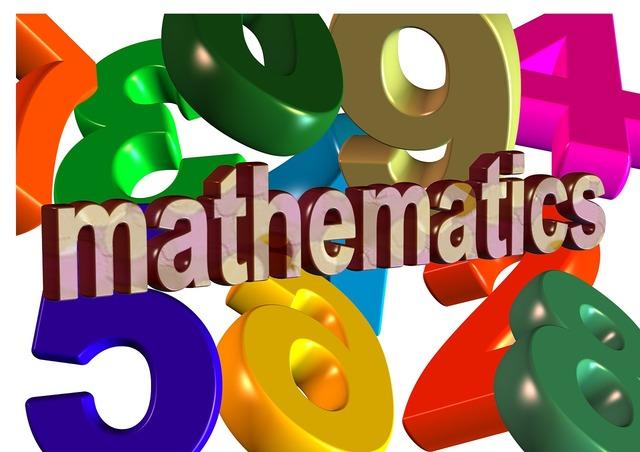 Mathematics pay colorful, education.