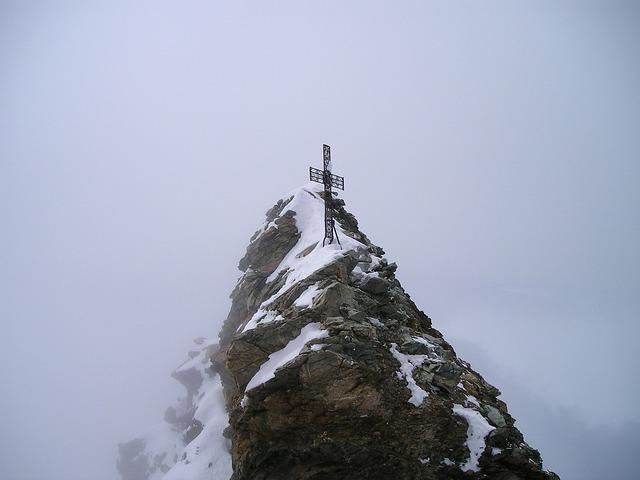 Matterhorn summit summit cross.