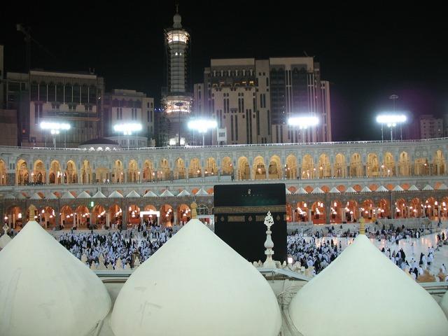 Mecca night muslim, religion.