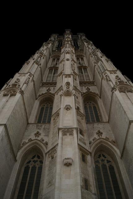 Mechelen tower building, architecture buildings.