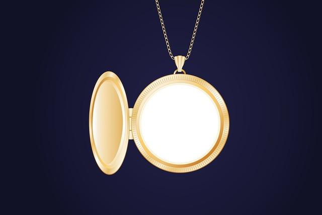 Medallion jewellery pendants.