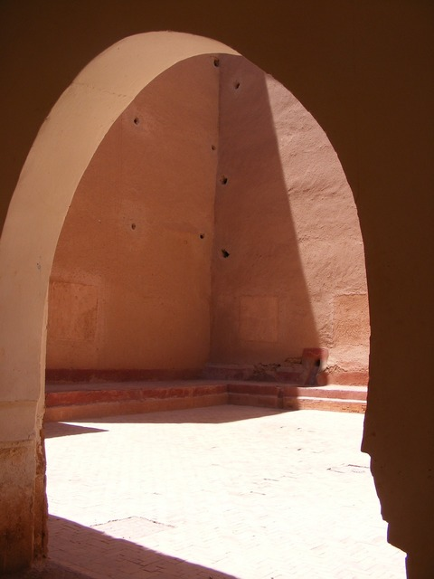 Medina morocco desert, architecture buildings.